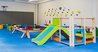 Play area for smaller children